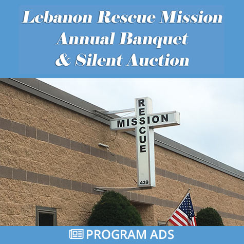 Annual Banquet and Silent Auction Program Ads
