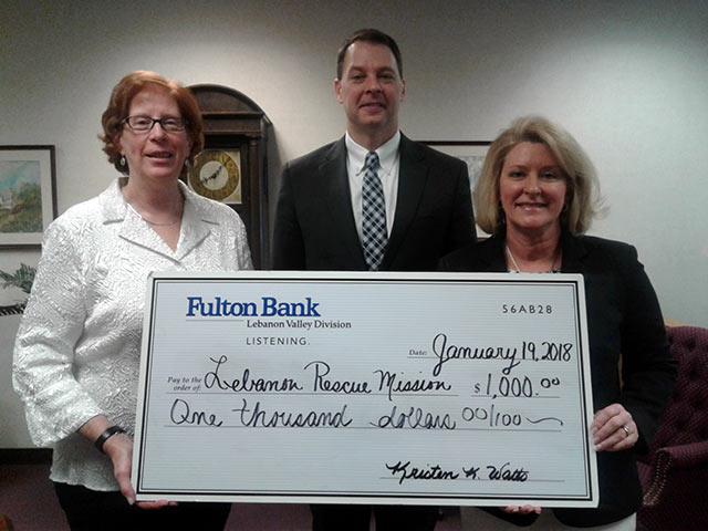 Fulton Bank Donation Ceremony