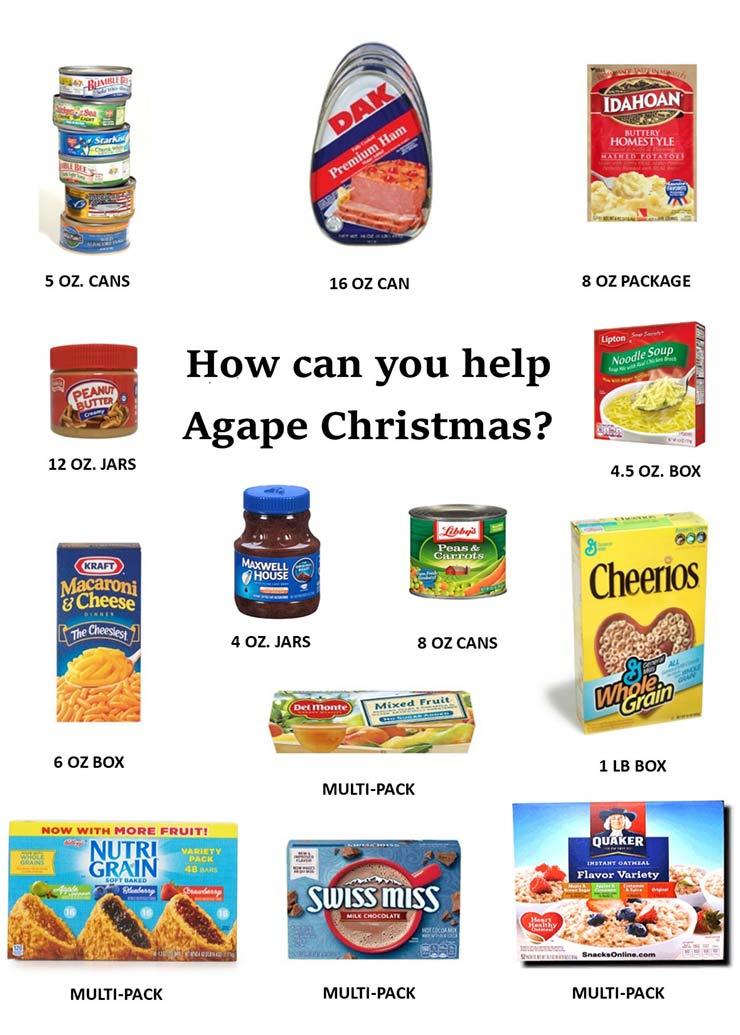 Agape Christmas Needs Poster