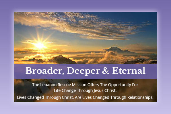 Broader, Deeper and Eternal