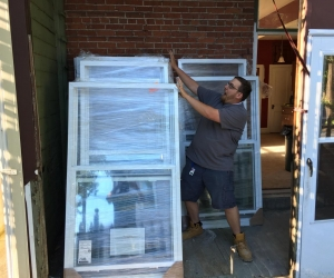 New windows and doors